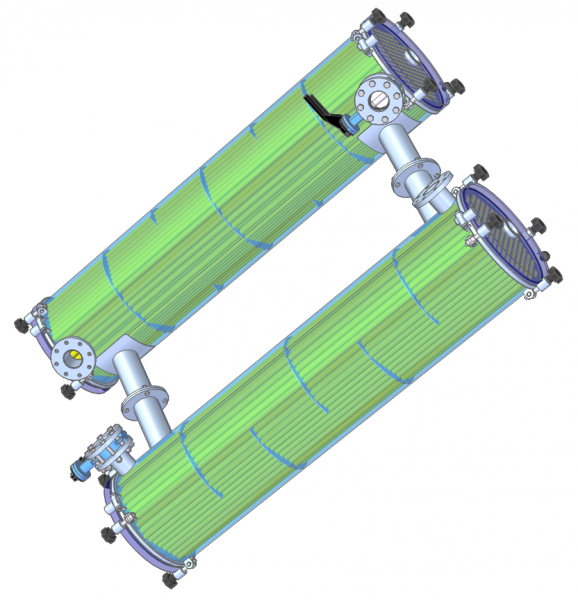 Shell and Tube Heat Exchanger - tube render