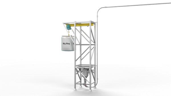 Zubereitungssystem für Nasspanade - Pulver-Rükführeinheit Rendering