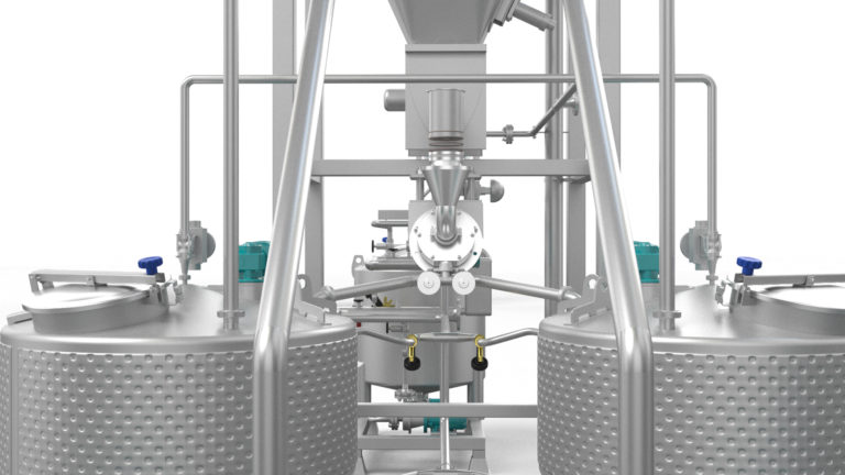 Batter Coating Preparation System - batter preparation system render