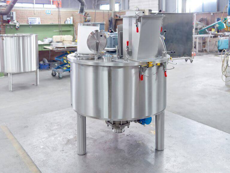 Stainless Steel Buffer Tank