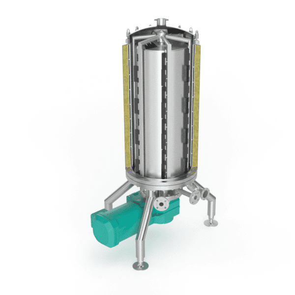 Scraped Surface Heat Exchanger - render