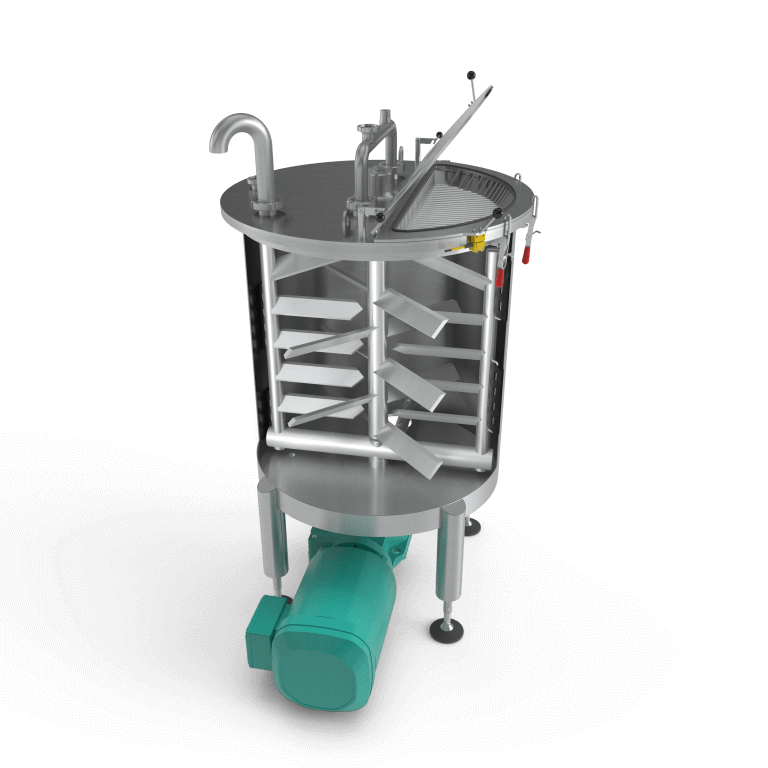 Stainless Steel Mixing Tank - render