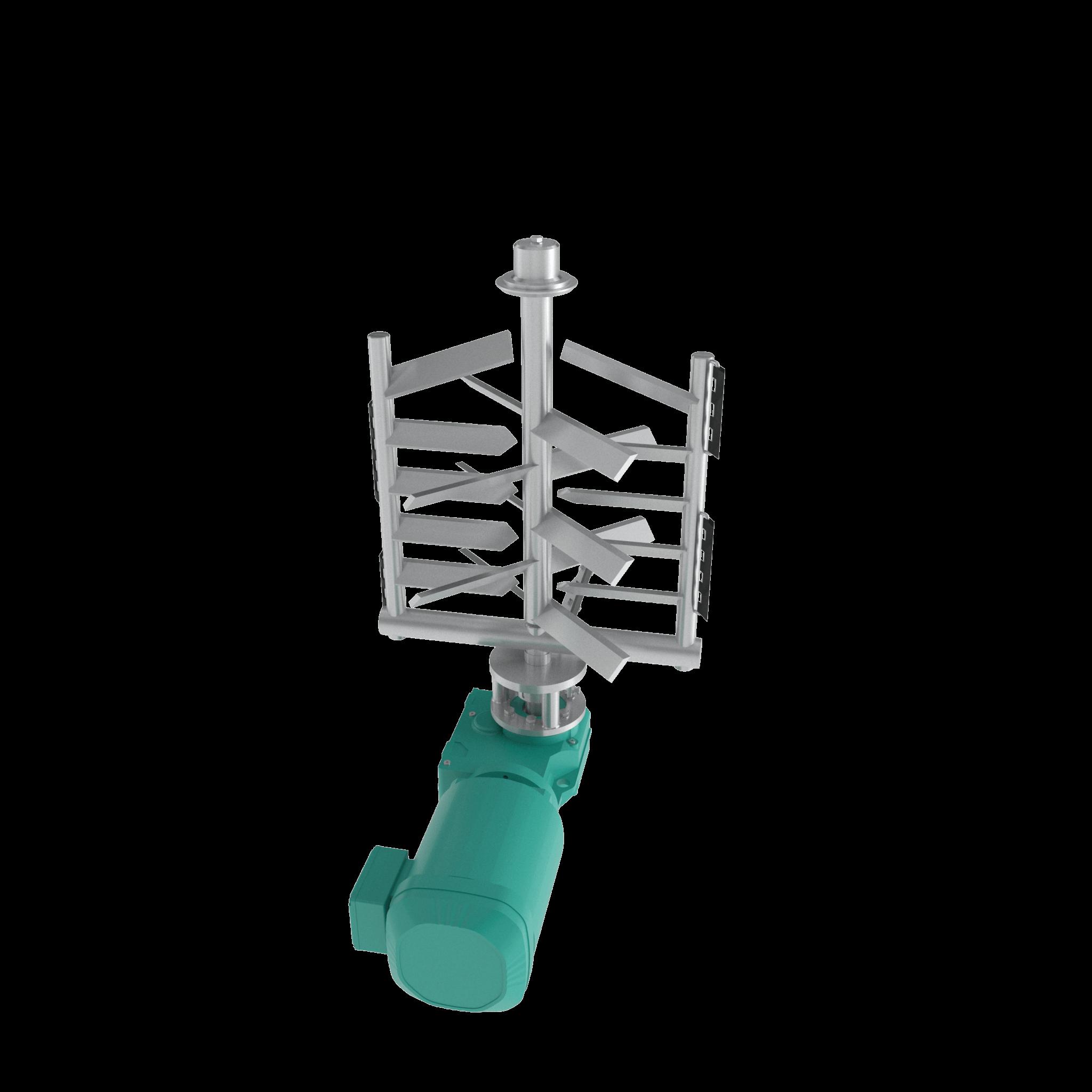 Agitator_Stainless Steel agitator - gate agitator render
