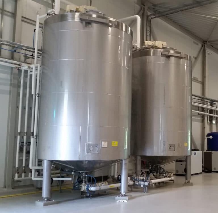 Stainless Steel Storage Tank - chocolate tanks