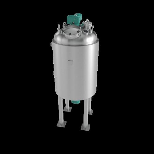 Stainless Steel Storage Tank - render