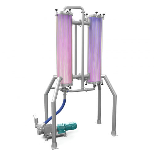 Shell and Tube Heat Exchanger - render